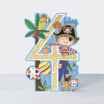 Rachel Ellen Designs Cards - Little Darlings - Age 4/Pirate